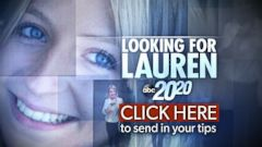 PHOTO: Send in tips about the disappearance of Lauren Spierer.