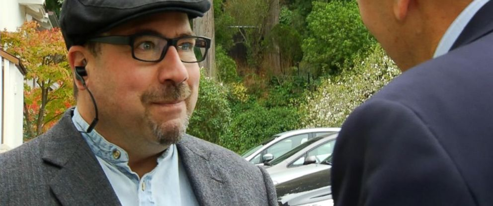 PHOTO: Craig Newmark, founder of Craigslist, speaks with ABC News outside his San Francisco home in 2014.