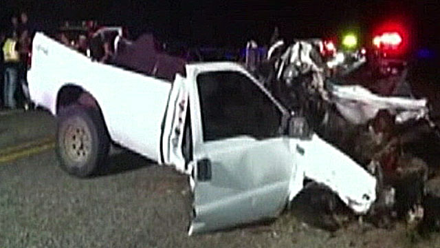 PHOTO: Highway Accident in Texas Leaves 12 Dead