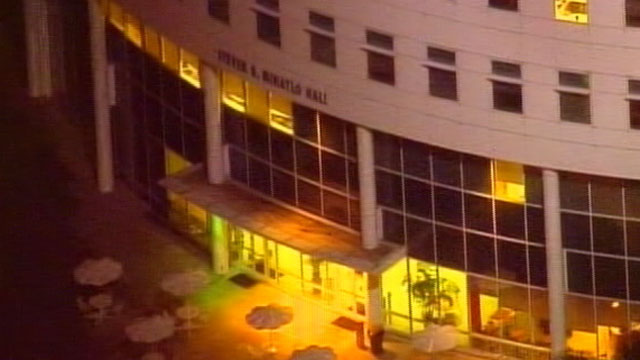 PHOTO:The California State University Fullerton campus was put on lockdown as authorities search for possibly two armed suspects on Dec. 12, 2012.