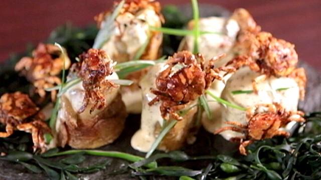 Miya S Crab Popcorn Anyone Video Abc News