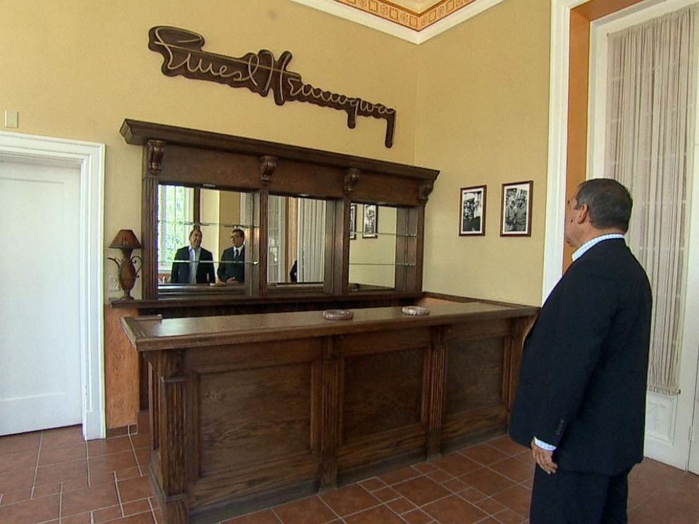 PHOTO: Inside the Embassy, they have a bar called Hemingway bar as a tribute to American writer Earnest Hemingway.