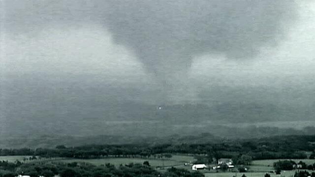 PHOTO: A Deadly tornado, seen here, ripped through Texas April 3, 2012.
