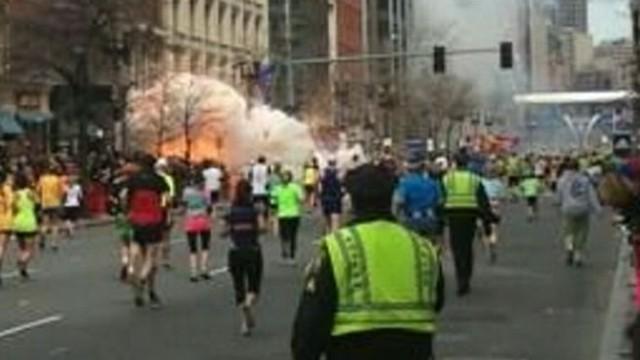 VIDEO: College student Dan Lampariello describes his firsthand account of Boston bombing.