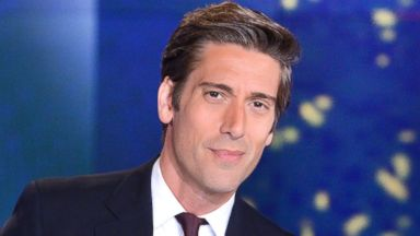 PHOTO: ABC News anchor David Muir is pictured on the set of ABC World News Tonight with David Muir.