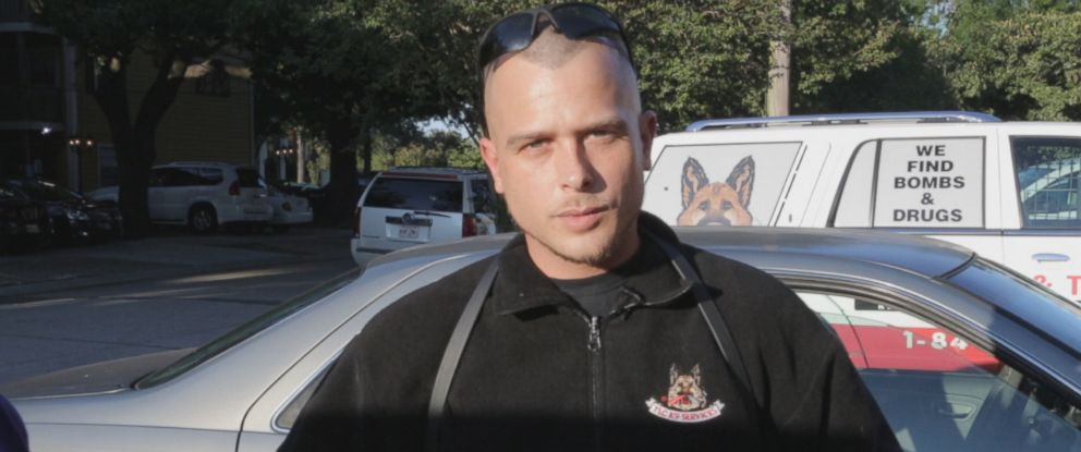 Michael Davis runs a private company where he and his drug sniffing dogs can be hired by anxious parents to snoop on their kids.