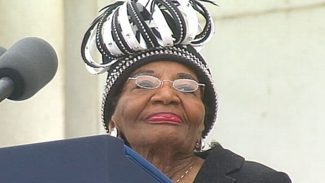 Martin Luther King Jr.'s Sister at March on Washington ...