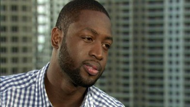 PHOTO: In many ways, basketball superstar Dwyane Wade leads a double life. By day, the Miami Heat guard is an NBA legend, but by night, Wade is a single father to his two young sons and his nephew.