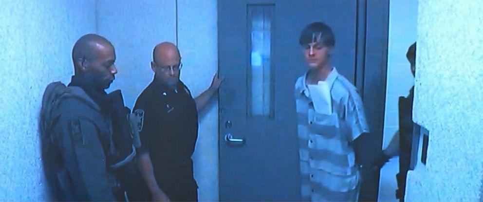 PHOTO: Dylann Roof is seen in custody on June 19, 2015.