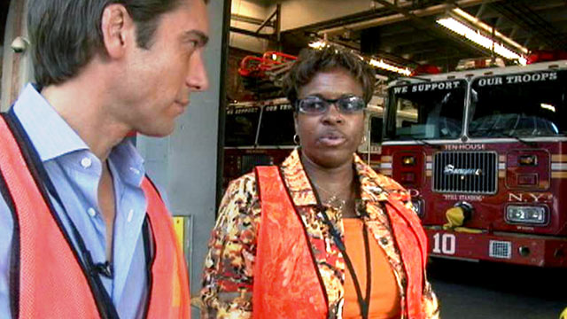 PHOTO:Ten years ago, on Sept. 11, 2001, Florence Jones was working for Baseline Financial at the World Trade Center when planes piloted by terrorists plowed into the two towers in downtown Manhattan.