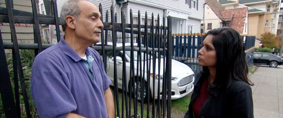PHOTO: Paul Ghysels shows ABC News Aditi Roy his home, where his neighbors are two fraternity houses on the edge of the University of California-Berkeleys boisterous Frat Row.