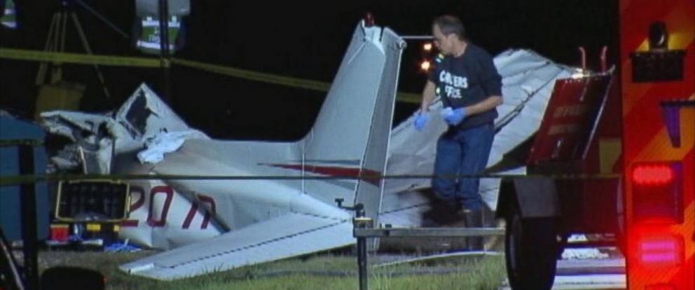 PHOTO: Four students were killed in a plane crash near the Cuyahoga County Airport in northern Ohio, Aug. 25, 2014.