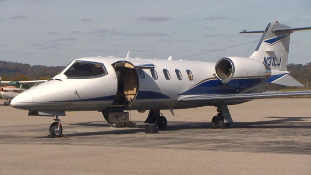 The private jet used by attorney Michael Fuller.