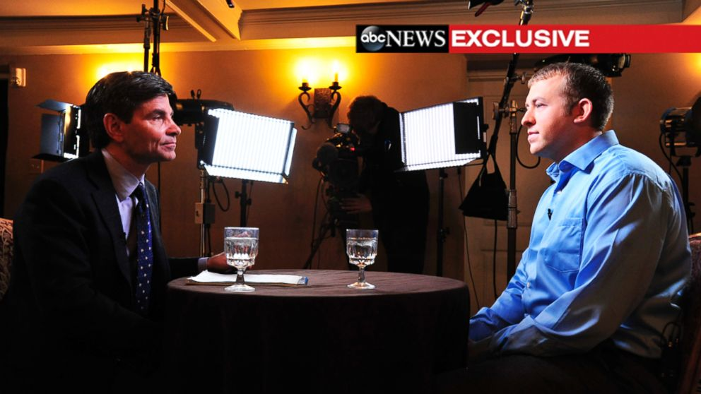 ABC News' George Stephanopoulos sat down with Darren Wilson in the Ferguson police officer's first interview since the shooting death of Michael Brown.