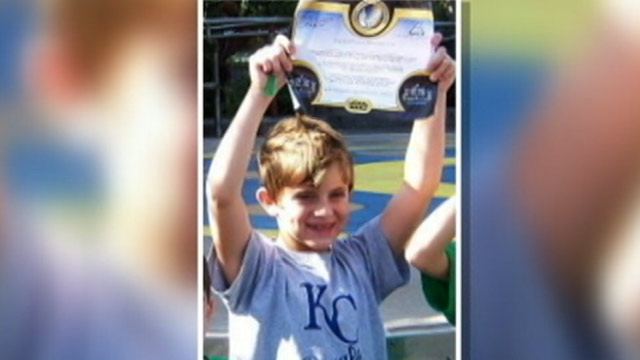 PHOTO: A young boy is killed after a huge sign falls at the Alabama airport.