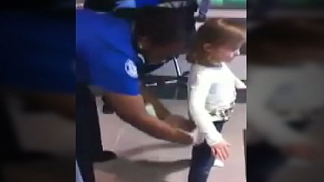PHOTO:The 6-year-old was pat-down by a TSA agent in April.
