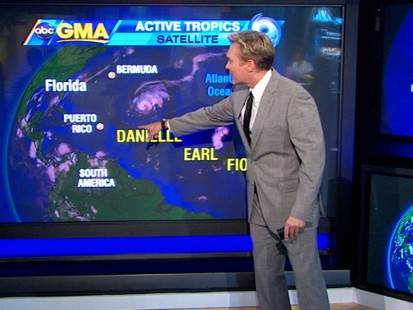 VIDEO: Hurricane Danielle Heading Toward Bermuda