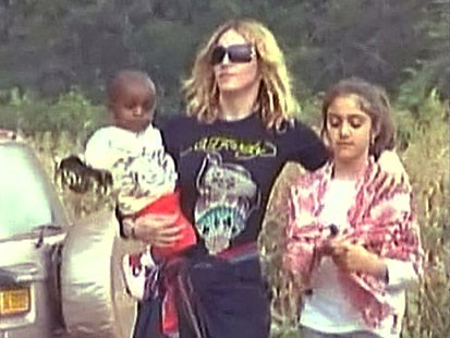 VIDEO: Madonna Adoption Controversy