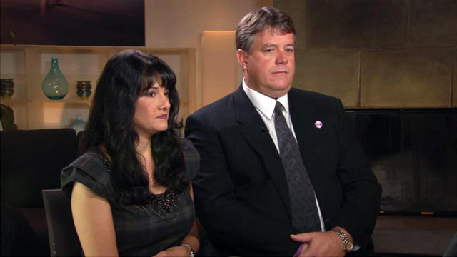 PHOTO: Roxanna and John Green spoke about dealing with the death of their daughter, Christina-Taylor Green a year ago. The 9-year-old was killed when gunman Jared Loughner opened fire at Congresswoman Gabby Giffords event in Tucson, Ariz.