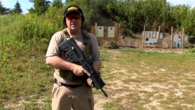 "NRA Certified Firearms Instructor describes himself as a ""firearm enthusiast"" on his YouTube channel."
