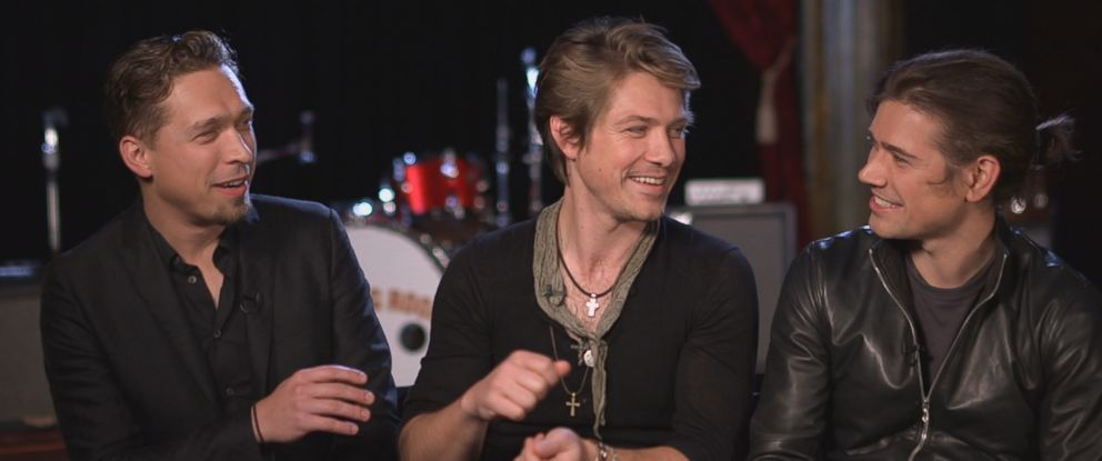 "Isaac, Taylor and Zac Hanson of the band Hanson sat down for an interview with ABC News ""Nightline"" in 2017."