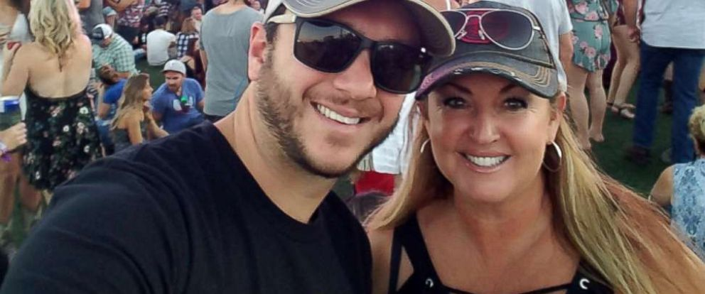Heather and Sonny Melton are seen here at the Route 91 Harvest music festival in Las Vegas before the shooting happened.