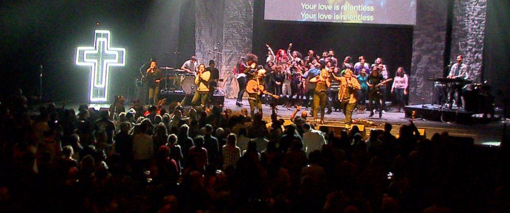 Not Your Granddad's Church: Hillsong Church Mixes Sermons With Rock