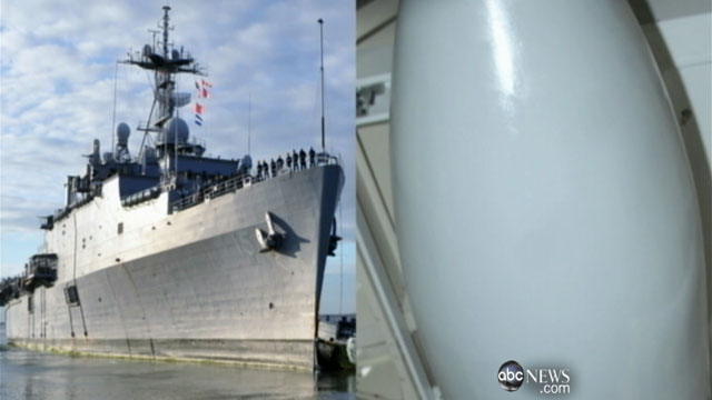 PHOTO:Two high profile weapons systems are getting critical attention as the U.S. trades verbal barbs with Iran over the Irans nuclear weapons program and its threat to close the Strait of Hormuz.