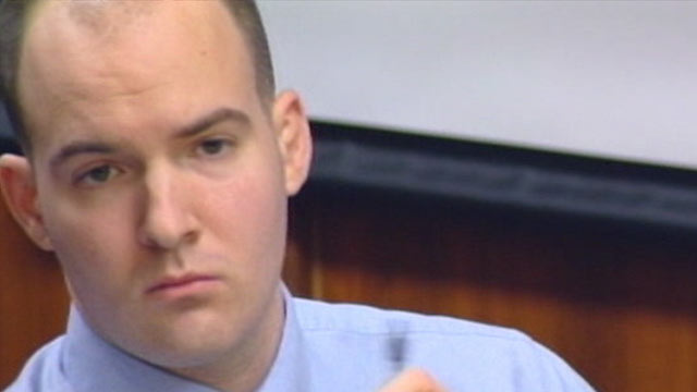 PHOTO: Jeffrey Pyne, a former high school valedictorian and University of Michigan student, is on trial, accused of bludgeoning and stabbing his mentally ill mother to death.