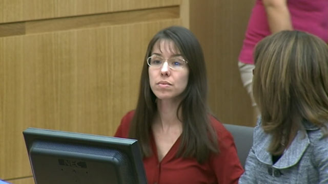 PHOTO: Jodi Arias sits in court on Jan. 15, 2013.
