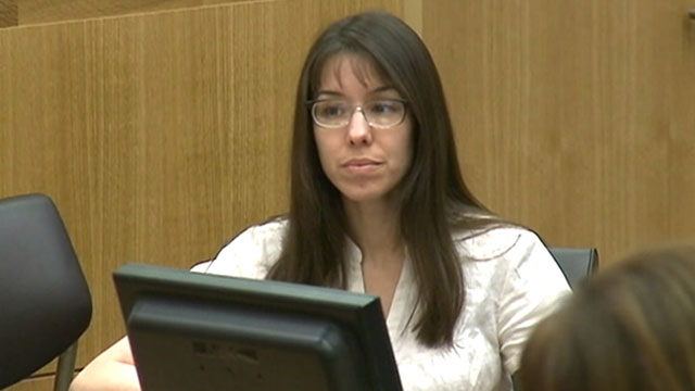 PHOTO: Jodi Arias appears in court for her murder trial at the Maricopa  County Superior