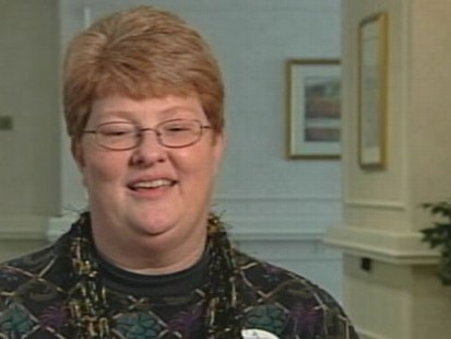 VIDEO: Evacuee and nurse Cindy Davis is happy to see a rebirth for New Orleans.