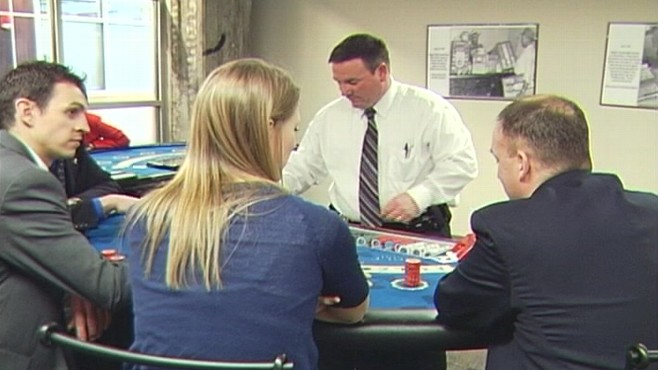 Video: Iowa agents learn how to stop cheats in casino.