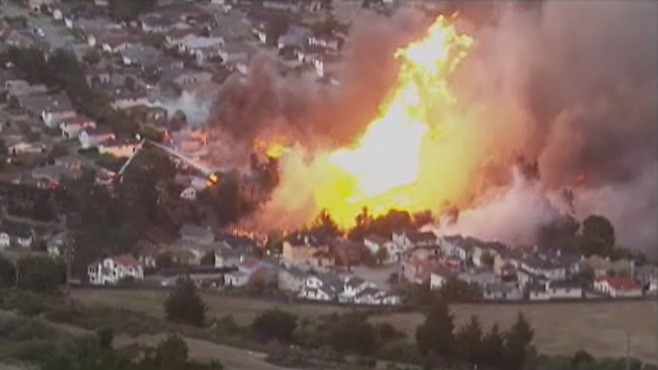 First Calls From San Bruno Disaster