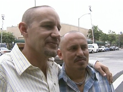 VIDEO: Gay couple reacts to Proposition 8 ruling.