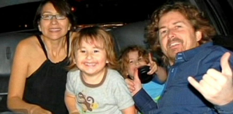 PHOTO: The McStay family is seen in this undated family photo provided to KGTV.