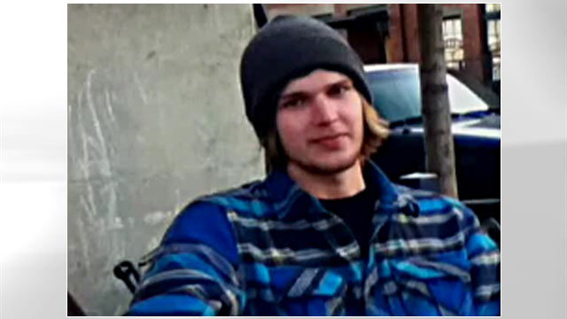 PHOTO:Kipp Rusty Walker, 19 yrs old, stabbed himself to death while performing at an open mic in Oregon, April 17, 2011.