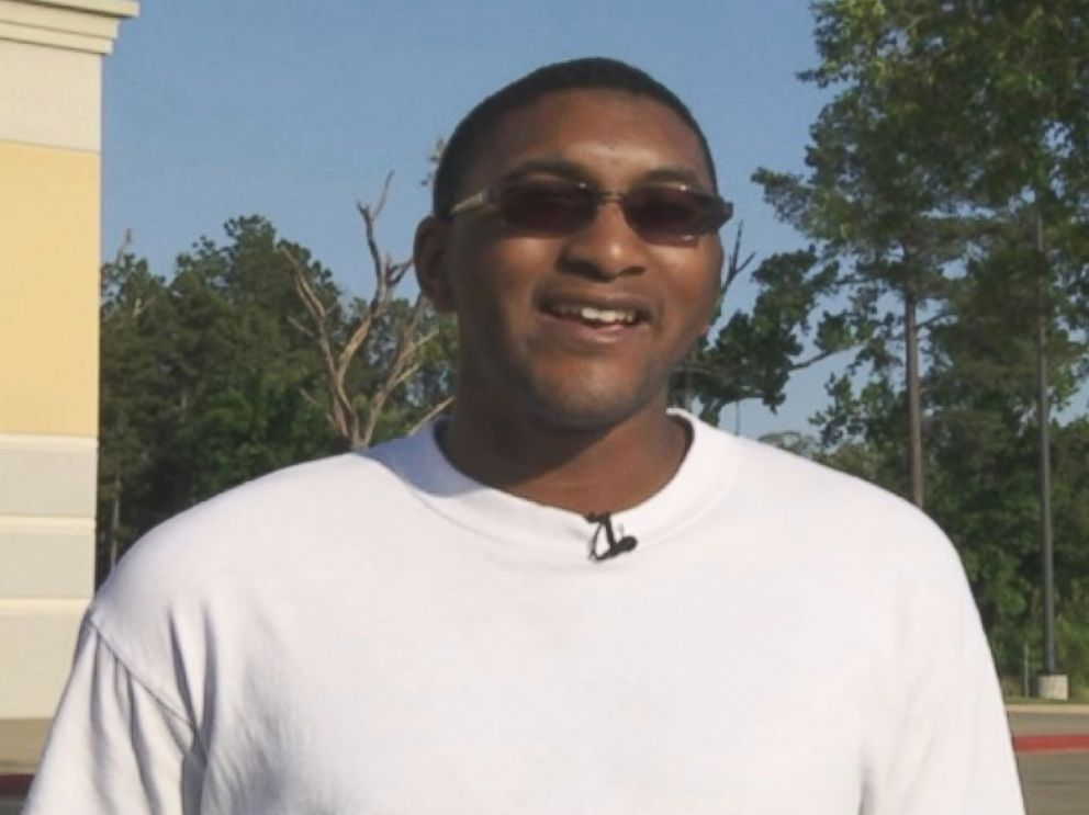 PHOTO: Rickie Williams tells KLTV that he is the boyfriend of Charity Johnson.