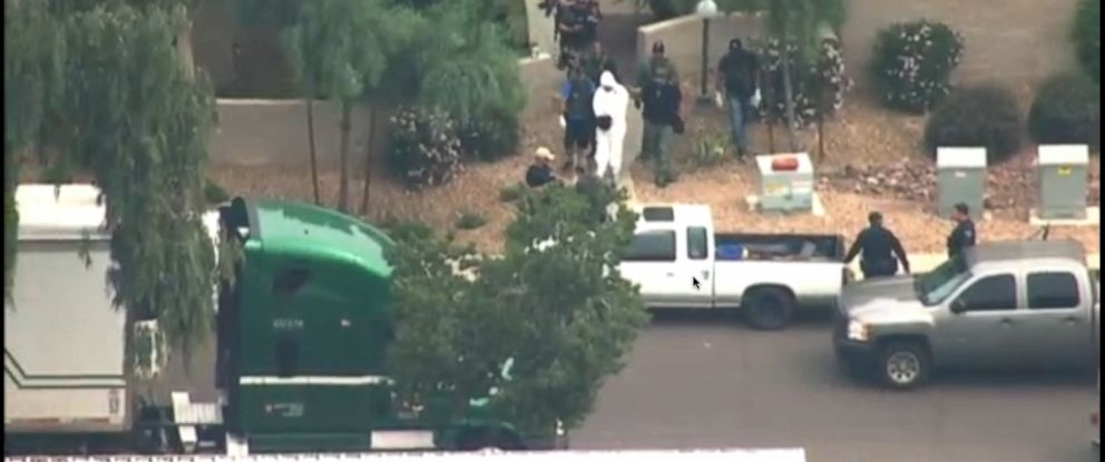 PHOTO: A shooting incident was reported in Mesa, Ariz., March 18, 2015.
