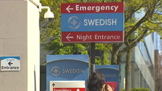 PHOTO: A woman was arrested for posing as a nurse at Swedish Medical Center, in Seattle, Washington, seen in this undated screengrab.