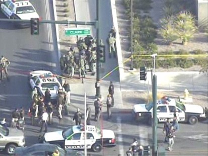 VIDEO: Alleged gunman is killed after shooting a U.S. Marshal and court officer.