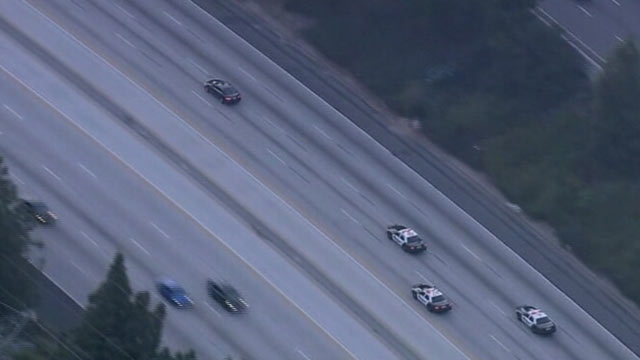 PHOTO: An undated handout photo of a car chase.