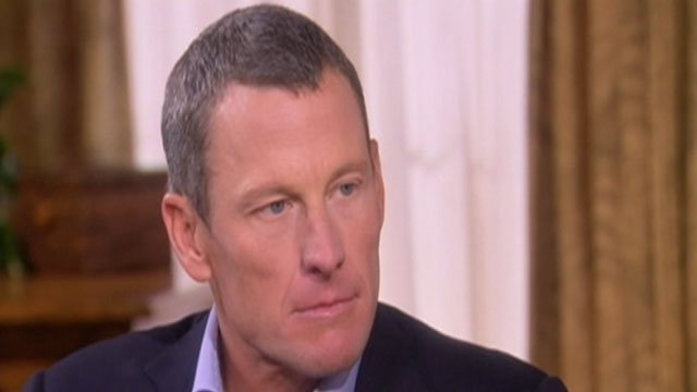 PHOTO: Lance Armstrong, formerly cyclings most decorated champion and, confessed to cheating for at least a decade.