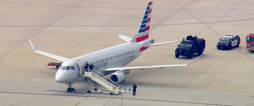 PHOTO: A flight from Houston to Los Angeles landed at LAX after officials became aware of a threat to the plane.