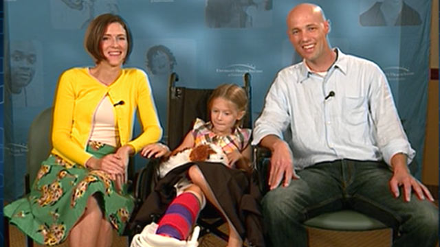 PHOTO:Lucy Mangum, 6, was bit by a shark while with her parents and sister on Ocrakoke Beach.