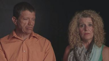 PHOTO: Madoff Ponzi scheme victims Ronnie Sue and Dominic Ambrosino speak to ABC News about their sudden loss.