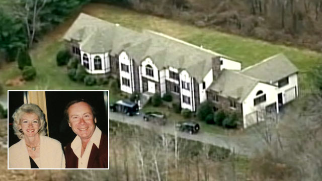 PHOTO: The million-dollar home where John and Geraldine Magee were found slain, victims of an apparently targeted shooting, December 14, 2011.
