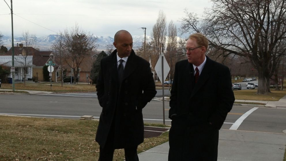 "Paul Cassell, (right) a now-retired federal judge in the Utah circuit, talks with ""Nightline"" co-anchor Byron Pitts about the mandatory minimum case that still haunts him."