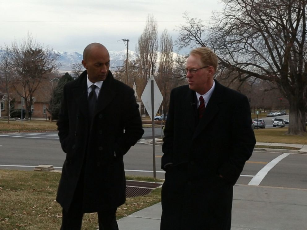 Paul Cassell, (right) a now-retired federal judge in the Utah circuit, talks with Nightline co-anchor Byron Pitts about the mandatory minimum case that still haunts him.