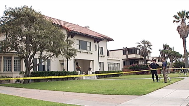 PHOTO:The body of a female guest was found in the backyard of a California home.